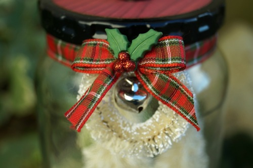 Christmas in a Pickle Jar Wreath 1098