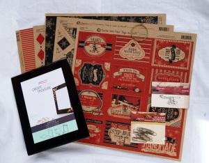 Farmhouse Flip Book Supplies 07392