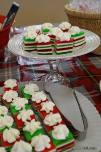 Holiday Jello Squares