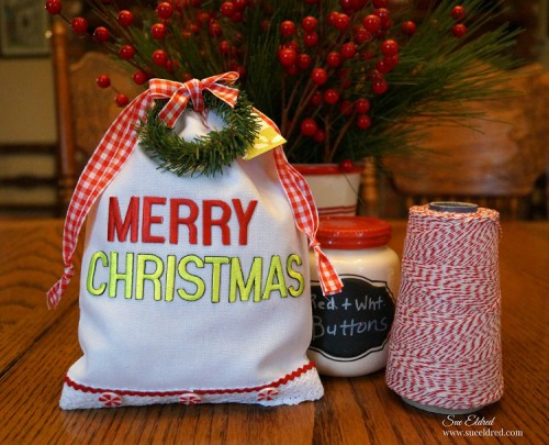Merry Christmas Gift Bag 1186