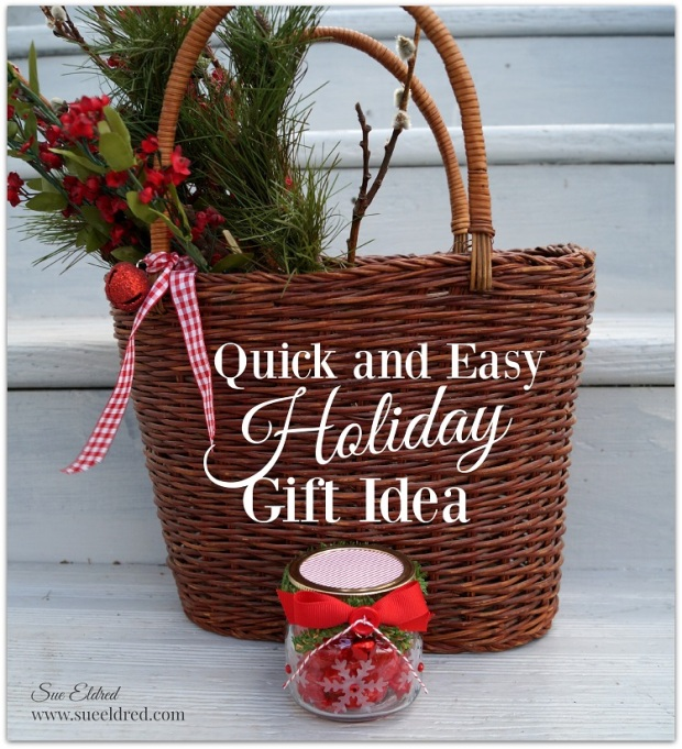 Quick and Easy Holiday Gift Idea