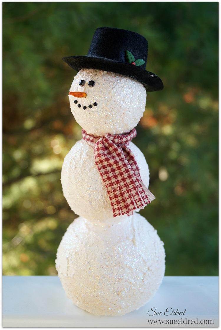 how to build a snowman with smoothfoam u2026 u2013 sue u0027s creative workshop