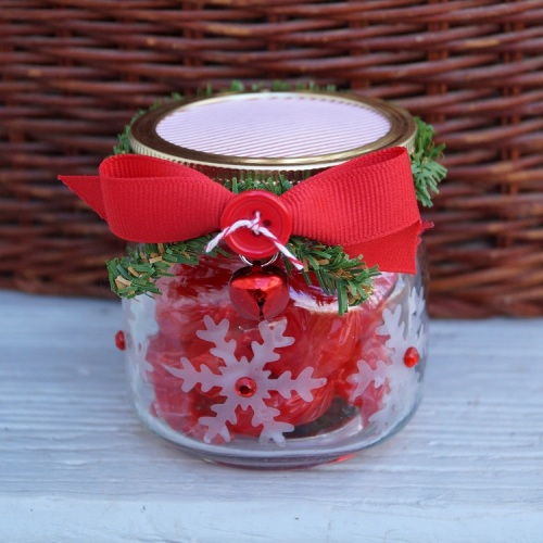 Snowflake Candy Jar 1472