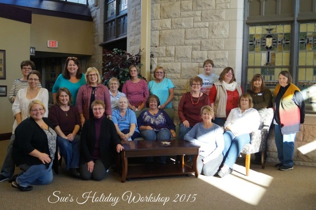 Sue's Holiday Workshop 2015