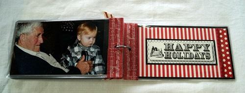 Christmas Mini Album Inside Back Cover 7414