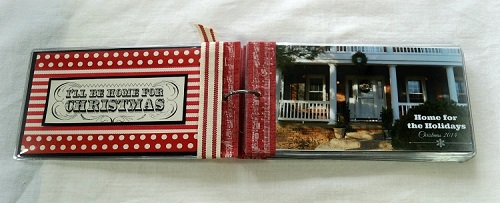Christmas Mini Album Inside front cover 7412