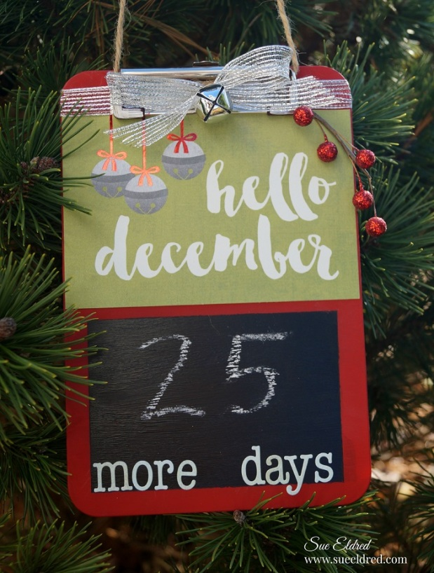 Hello December Christmas Countdown
