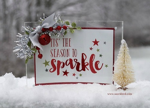 Sue Eldred's Holiday Sparkle Frame