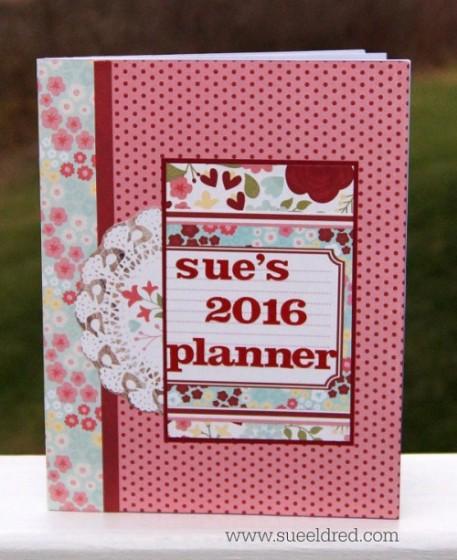 Sue's 2016 Planner