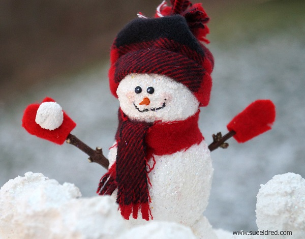 Snowball Fight Close Up 3194