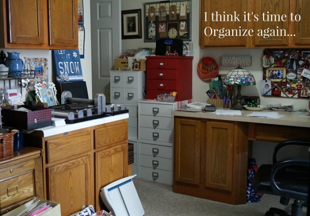 Time to organize again.