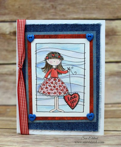 Art Play Paintables Love You Card