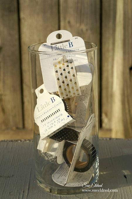 Washi Tape and Vase