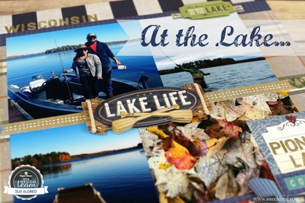 At The Lake Title Page