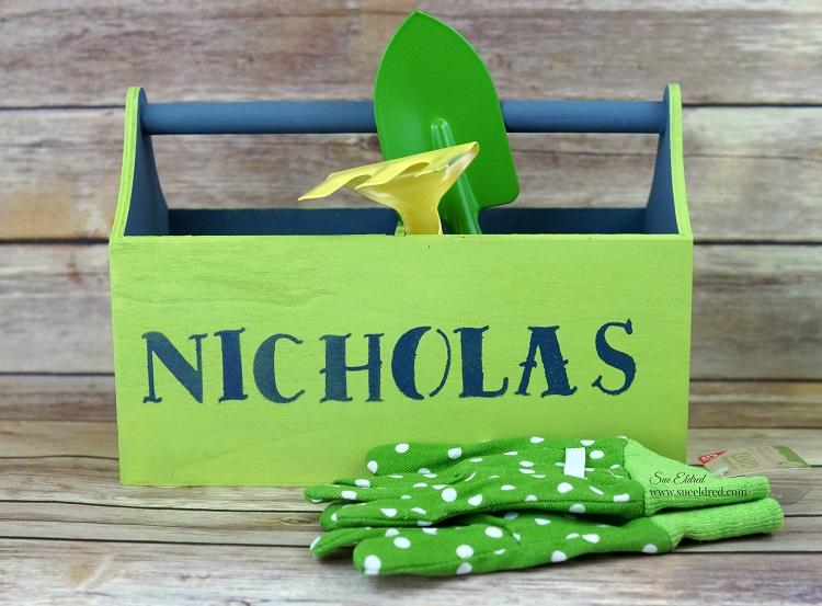 Nicks Garden Caddy for Easter Sues Creative Workshop