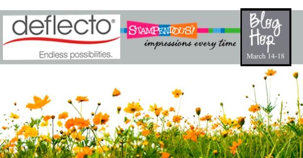 Deflecto Stampendous Blog Hop Logo 2