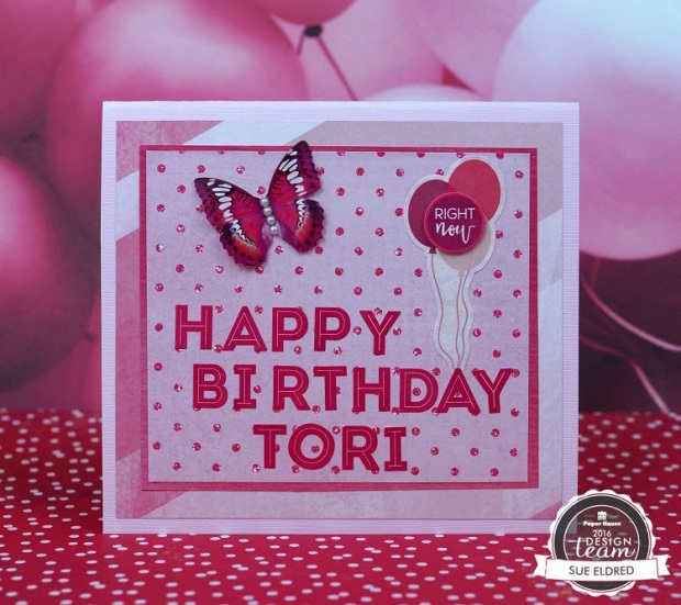 Paper House Pink Birthday Card 4312