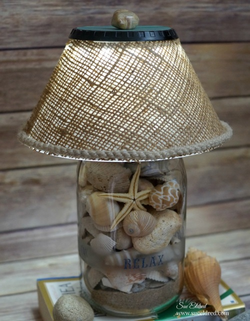 DIY Seashell Lamp 05959