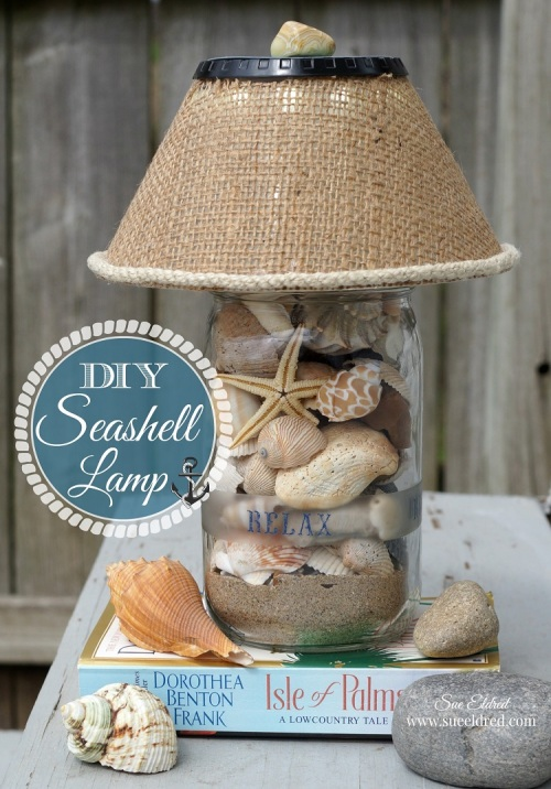 DIY Seashell Lamp 5998