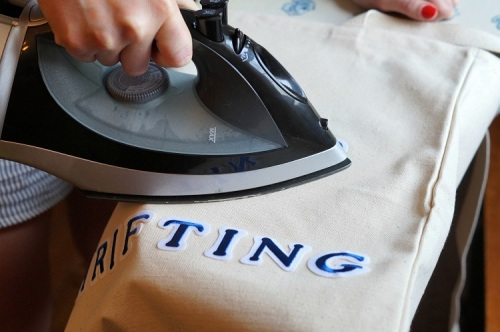 ironing the letters 6266