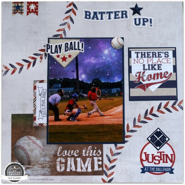 Justin Baseball Layout 6512