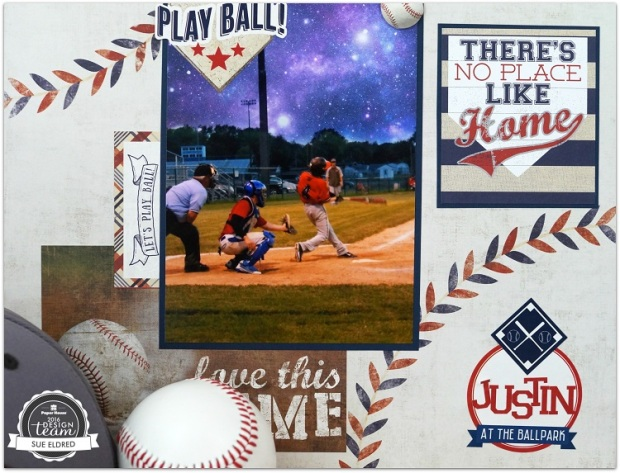 Justin Baseball layout close up 6532