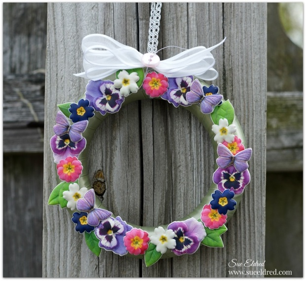 Mini Floral Wreath 7122