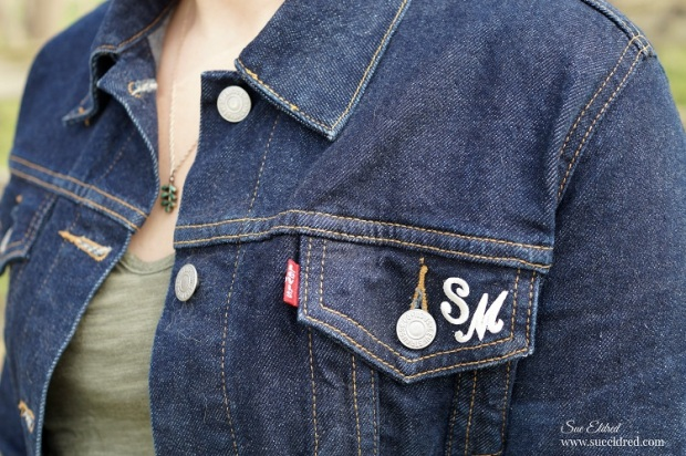 Monogram Jeans Jacket 6279