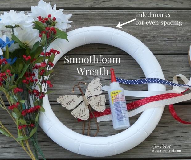 Ruled Wreath Supplies 7495