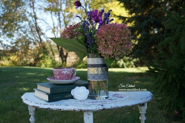 Washi Tape Vase and Flowers 1
