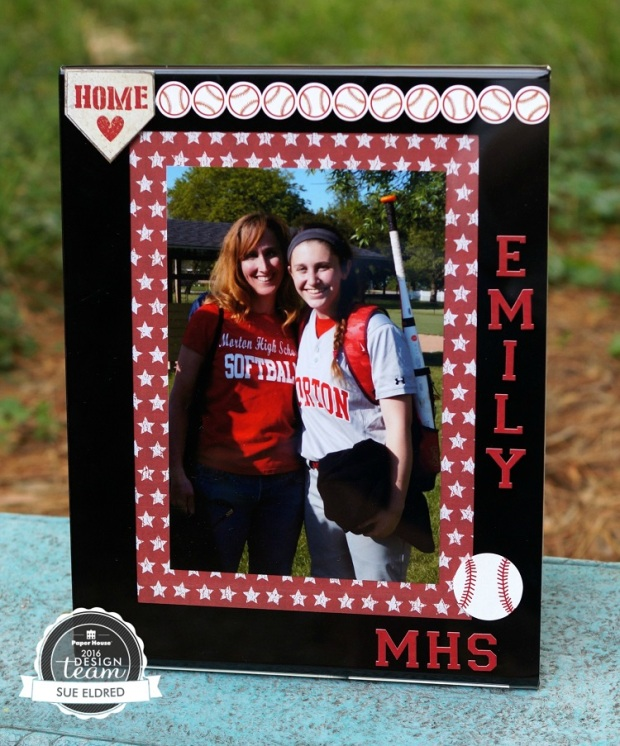 Emily's Softball Frame 7885