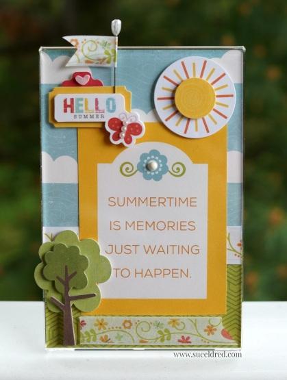 Hello Summer Frame 8046