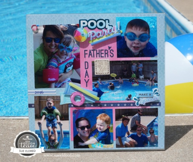 Pool Party Layout 8924