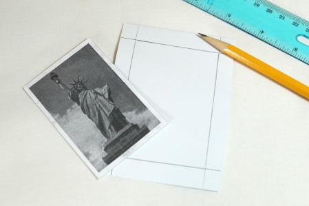 Tracr around picture with ruler 4091