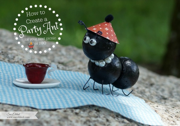 How to create a cute little Party Ant for your BBQ | Sue's ...