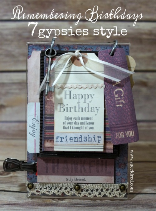 Remembering Birthdays 7gypsies style