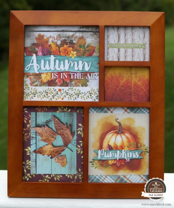 Autumn Woods Collage 115