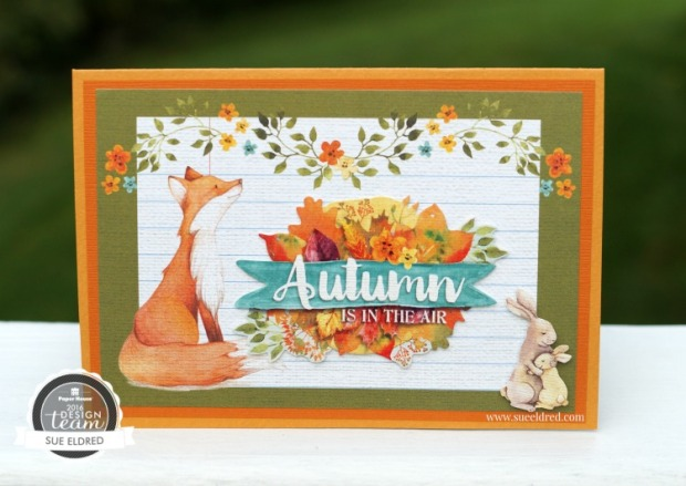 Autumn Woods Pop Up Card 096