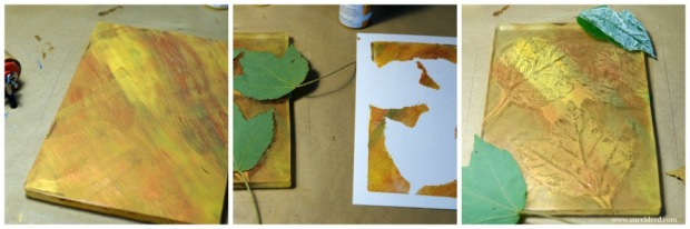 creating-the-leaf-background-on-the-gel-press-sues-creative-workshop