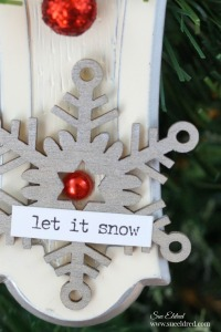 let-it-snow-christmas-ornament-made-from-old-kitchen-hardware-close-up-sues-creative-workshop