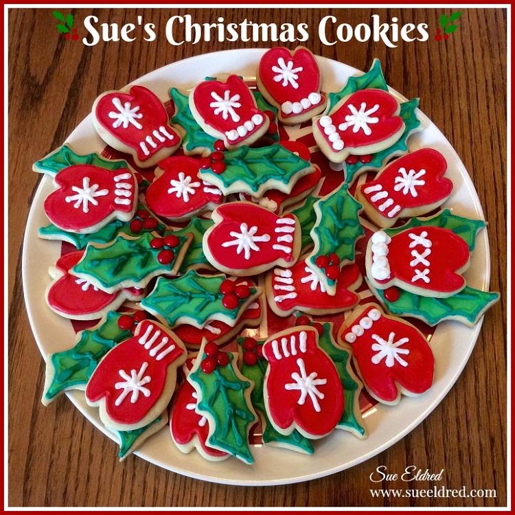 sues christmas cookies sues creative workshop - Creative Christmas Cookies