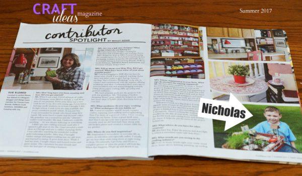 Craft Ideas Magazine Sue S Creative Workshop