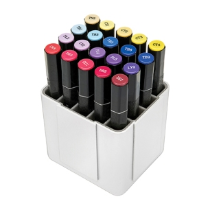 interlocking marker organizer