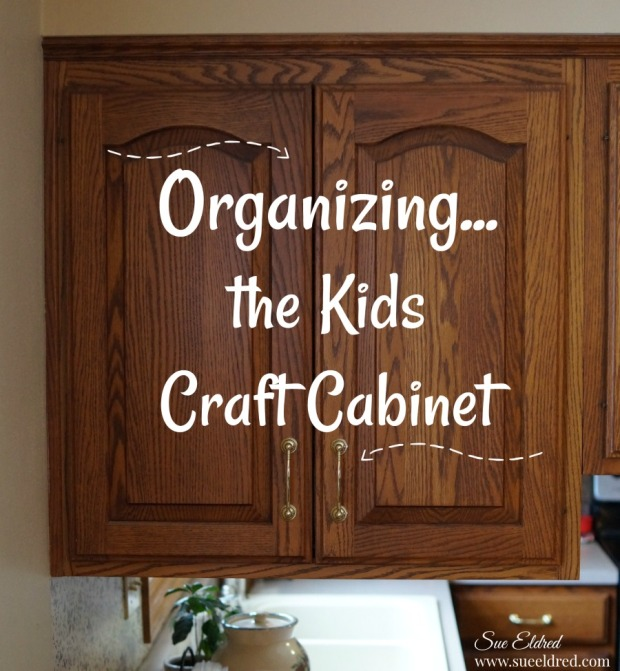 Organizing the kids craft cabinet-Sue's Creative Workshop-www.sueeldred.com 1282