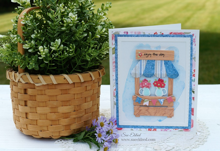 Flower Stand Card