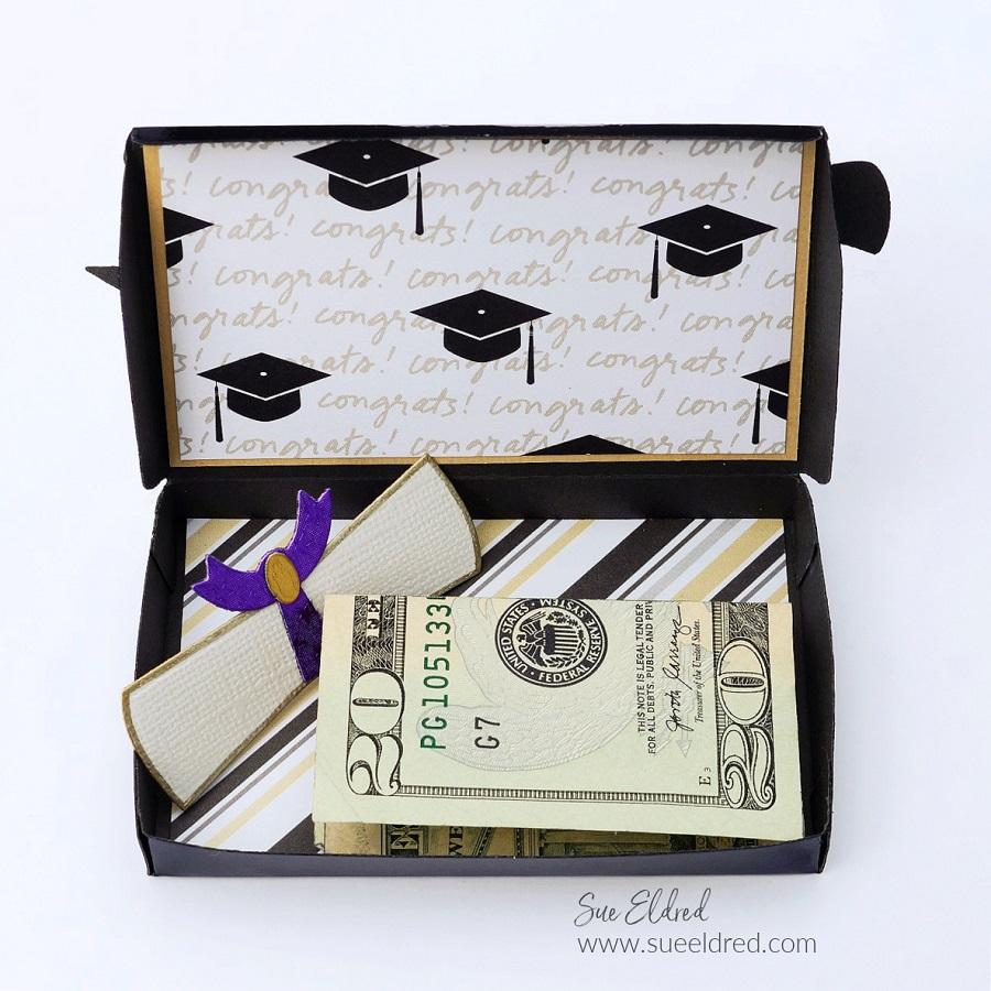Graduation Hat Gift Card Holder-Sue's Creative Workshop www.sueeldred.com 7646