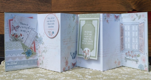 Kaisercraft Flower Shoppe-Accordion Album