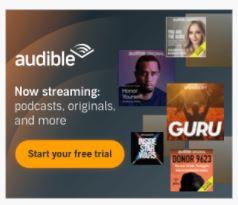 Amazon Audible Promo