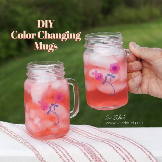 How to make color changing mugs.