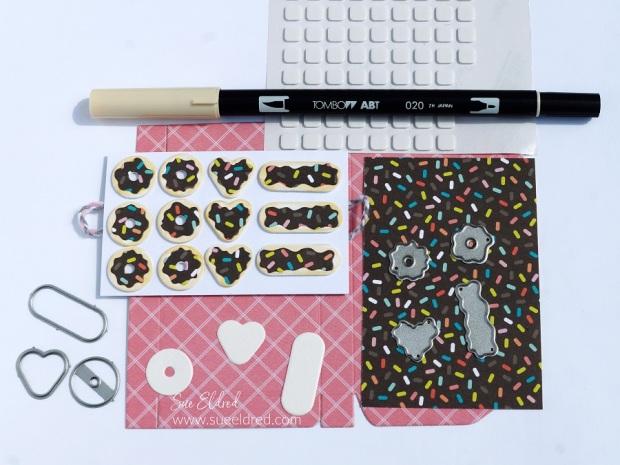 How to Make a Mini Donut Box Gift Card Holder